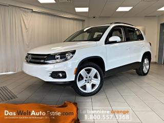 Used 2016 Volkswagen Tiguan Comfortline, Toit, Automatique Bas Kilo! for sale in Sherbrooke, QC