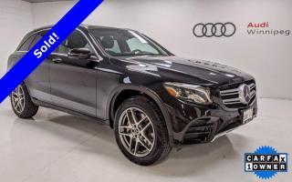 Used 2018 Mercedes-Benz GL-Class GLC 300 w/Heated Steering Wheel *Low KM - Local Trade* for sale in Winnipeg, MB