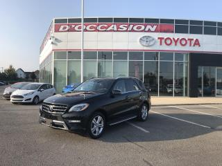 Used 2014 Mercedes-Benz ML-Class 4MATIC 4dr ML350 BlueTEC NAVIGATION-PANORAMIQUE for sale in St-Eustache, QC