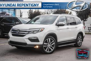 Used 2017 Honda Pilot TOURING 4WD 7 PASSAGER**LECTEUR BLU RAY, CUIR** for sale in Repentigny, QC