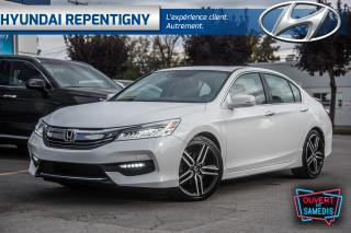 Used 2016 Honda Accord 2.4L CVT Touring**CUIR, TOIT, MAGS, NAVIGATION** for sale in Repentigny, QC