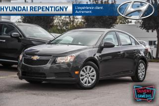 Used 2011 Chevrolet Cruze LT 4 PORTES**A/C, GROUPE ELECTRIQUE, DÉMARREUR** for sale in Repentigny, QC