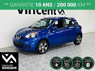 Used 2017 Nissan Micra SV MAGS ** GARANTIE 10 ANS ** Très pratique et amusante! for sale in Shawinigan, QC