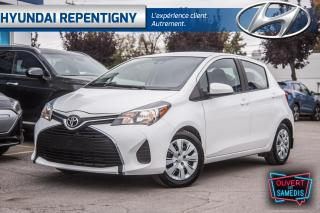 Used 2017 Toyota Yaris LE 5 PORTES**A/C, GROUPE ÉLECTRIQUE** for sale in Repentigny, QC