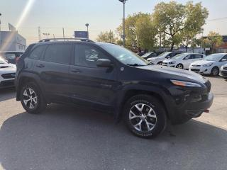 Used 2017 Jeep Cherokee Trailhawk  4 roues motrices for sale in Trois-Rivières, QC