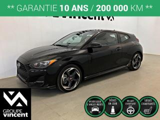 Used 2020 Hyundai Veloster Turbo ** GARANTIE 10 ANS ** Liquidation 2020! Rabais de 1835$. for sale in Shawinigan, QC