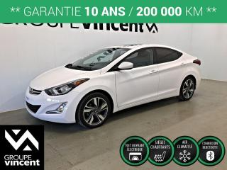 Used 2016 Hyundai Elantra GLS ** GARANTIE 10 ANS ** Fiable et économique! for sale in Shawinigan, QC