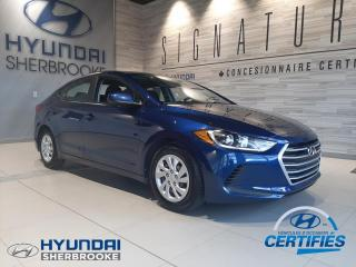 Used 2017 Hyundai Elantra LE +A/C+BANCS CHAUFF+BLUETOOTH+CRUISE for sale in Sherbrooke, QC