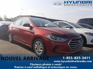Used 2017 Hyundai Elantra LE + A/C + BANCS CHAUFFANTS + BLUETOOTH for sale in Sherbrooke, QC