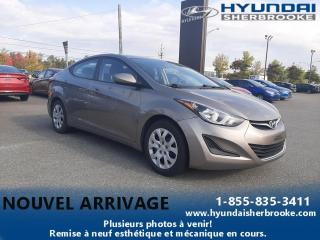 Used 2015 Hyundai Elantra GL+A/C+BANCS CHAUFFANTS+BLUETOOTH+CRUISE for sale in Sherbrooke, QC