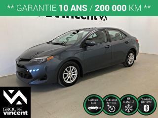Used 2018 Toyota Corolla CE CLIMATISEUR ** GARANTIE 10 ANS ** Profitez de la tranquillité d'esprit que procure une Corolla! for sale in Shawinigan, QC