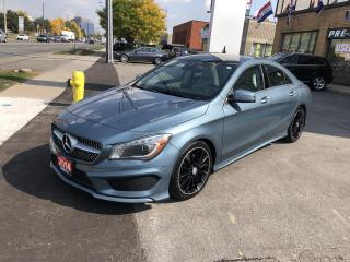 Used 2014 Mercedes-Benz CLA-Class 4dr Sdn CLA250 4MATIC for sale in North York, ON