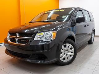 Used 2016 Dodge Grand Caravan SE TOURING *STOW'N'GO ARR* A/C *REG VITESSE* PROMO for sale in Mirabel, QC