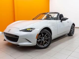 Used 2018 Mazda Miata MX-5 GS *BAS KM* SIEGES CHAUFF *ALERTES SECURITE* PROMO for sale in Mirabel, QC