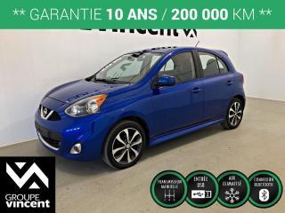 Used 2016 Nissan Micra SR SPORT ** GARANTIE 10 ANS ** Économique, pratique et agile en ville! for sale in Shawinigan, QC