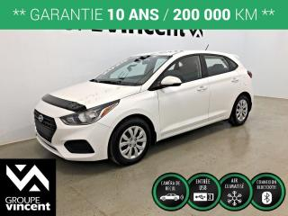Used 2020 Hyundai Accent Essential w/Comfort Package ** GARANTIE 10 ANS ** Liquidation démonstrateur! Rabais de 1485$. for sale in Shawinigan, QC
