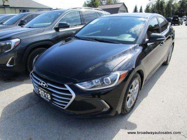 2018 Hyundai Elantra LIKE NEW LIMITED EDITION 5 PASSENGER 1.8L - DOHC.. HEATED SEATS.. TOUCH SCREEN.. BLUETOOTH SYSTEM.. BACK-UP CAMERA.. HEATED STEERING WHEEL..