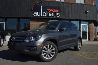 Used 2014 Volkswagen Tiguan Comfortline/LEATHER/PANORAMA/HTD SEATS/CAMERA for sale in Concord, ON