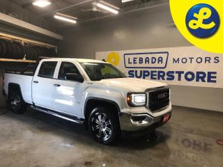 Used 2017 GMC Sierra 1500 Crew Cab 4WD EcoTec 5.3 L V8 * 6 Speed automatic transmission * RTX 20 Inch black/chrome rims * Tow haul mode * Floor mounted shift transfer case * He for sale in Cambridge, ON