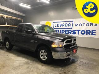 Used 2017 RAM 1500 SXT 4X4 QUAD CAB Hemi * Plastic bed liner * Tonneau cover * 30 Inch led front light bar * Husky front and rear heavy duty floor mats * Phone Connect * for sale in Cambridge, ON