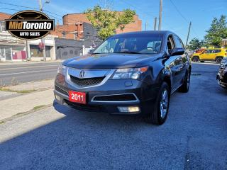 Used 2011 Acura MDX SH AWD | No Accidents | One Owner | Power Roof | Leather for sale in North York, ON
