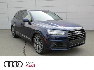 Used 2019 Audi Q7 55 Technik for sale in Regina, SK