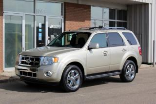 Used 2011 Ford Escape Limited AWD - LEATHER - MOONROOF - BLUETOOTH for sale in Saskatoon, SK