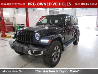 Used 2018 Jeep Wrangler Unlimited Sahara SAHARA 4x4 for sale in Moose Jaw, SK