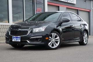 Used 2016 Chevrolet Cruze Limited LTZ RS - HEATED SEATS BACK UP CAM SUNROOF + for sale in Chatham, ON