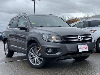 Used 2017 Volkswagen Tiguan Comfortline HEATED SEATS, BLUETOOTH for sale in Midland, ON