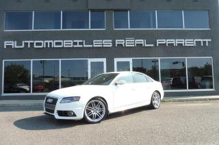 Used 2012 Audi A4 SLINE - QUATTRO - MANUELLE - TOIT - for sale in Québec, QC