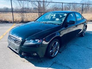 Used 2010 Audi A4 2.0T PREMIUM for sale in Scarborough, ON