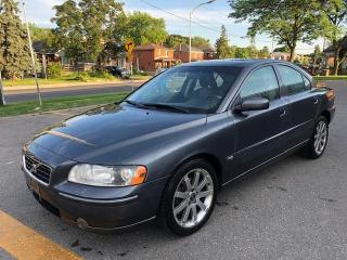 Used 2006 Volvo S60 2.5L Turbo Auto AWD Spec Ed for sale in Scarborough, ON
