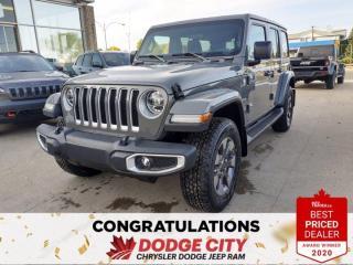 New 2021 Jeep Wrangler Sahara for sale in Saskatoon, SK