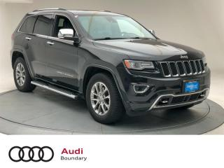 Used 2014 Jeep Grand Cherokee 4x4 Overland for sale in Burnaby, BC