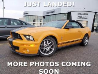 Used 2008 Ford Mustang Shelby GT500 Convertible | 500 HP & 480 lb/ft for sale in Winnipeg, MB