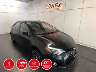 Used 2015 Toyota Corolla S - MANUELLE - TOIT OUVRANT for sale in Québec, QC