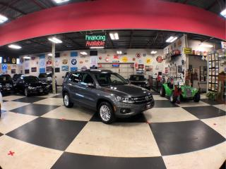 Used 2016 Volkswagen Tiguan 2.0 TSI SPECIAL EDITION AUT0 AWD PANO/ROOF CAMERA 96K P/START CAMERA 96K for sale in North York, ON