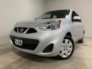 Used 2015 Nissan Micra SV for sale in Owen Sound, ON