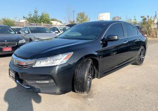 Used 2017 Honda Accord Touring /nav/cam/leather/sensore for sale in Brampton, ON