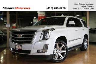 Used 2017 Cadillac Escalade PREMIUM LUXURY - ACC|HUD|DVD|NAVI|360CAM|SUNROOF for sale in North York, ON