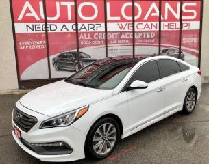 Used 2016 Hyundai Sonata 2.4L SPORT TECH-ALL CREDIT for sale in Toronto, ON