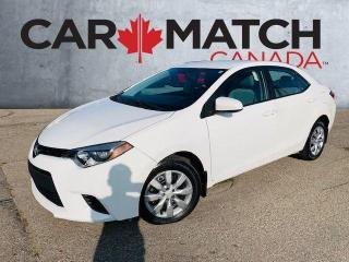 Used 2014 Toyota Corolla LE / AUTO / AC / POWER GROUP for sale in Cambridge, ON
