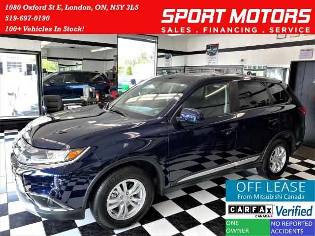 2018 Mitsubishi Outlander ES AWD+Apple Play+10 YEAR Warranty+ACCIDENT FREE