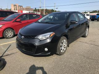 Used 2015 Toyota Corolla Berline  S for sale in Sherbrooke, QC