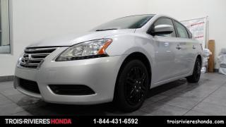 Used 2013 Nissan Sentra S + A/C + BLUETOOTH + CRUISE ! for sale in Trois-Rivières, QC