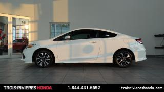 Used 2014 Honda Civic EX + MANUELLE + VITRES TEINTEES + CUIR ! for sale in Trois-Rivières, QC