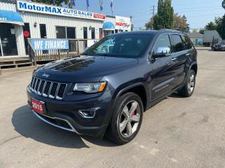 Used 2015 Jeep Grand Cherokee Limited-LUXURY PKG 2-ACCIDENT FREE for sale in Stoney Creek, ON