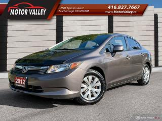 Used 2012 Honda Civic LX Clean Car! for sale in Scarborough, ON