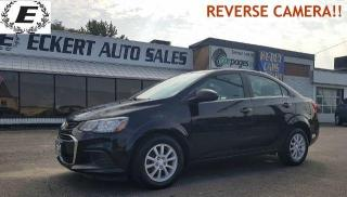 Used 2017 Chevrolet Sonic LT WITH REVERSE CAMERA!! for sale in Barrie, ON